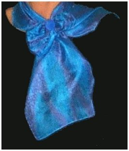 Regular silk scarf